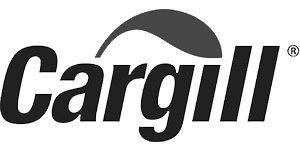 Greyscale logo for Cargill
