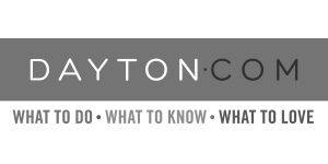 Greyscale logo for dayton.com