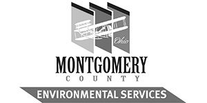 Greyscale logo for Montgomery County Environmental Services